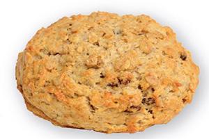 Oatmeal Raisin Drop Scone
