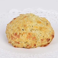 Cheddar Rosemary Drop Scone