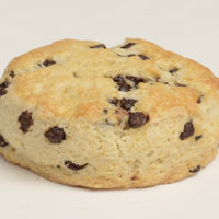 Chocolate Chip Sheeted Scone