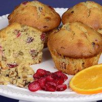 Cranberry Orange Nut Muffin