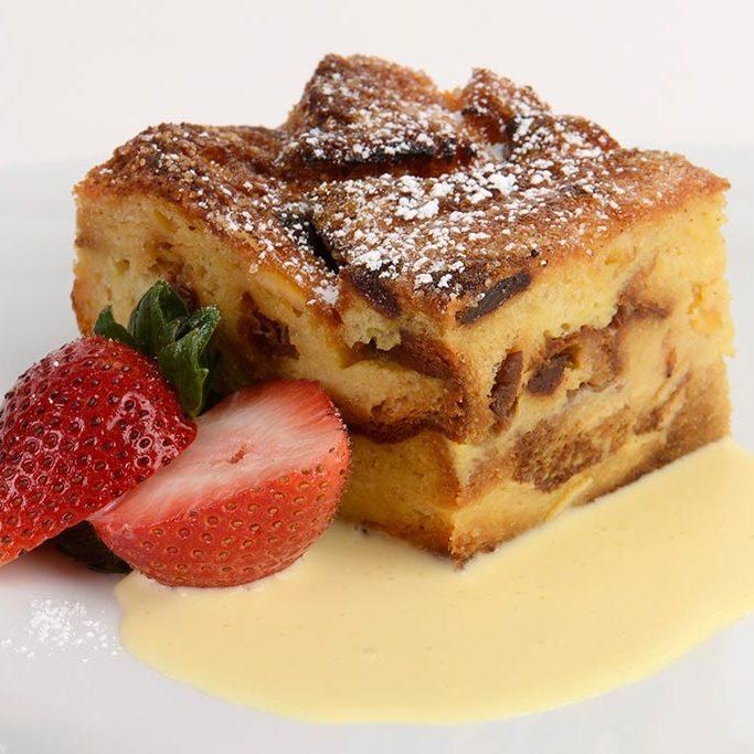 Panetonne Bread Pudding